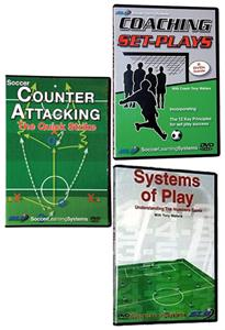 Tactical Soccer Training 3 DVD Set