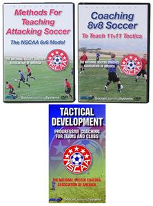 NSCAA Tactical 3 DVD Set