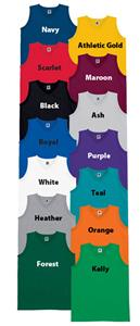 High 5 Heavyweight Sleeveless V-Neck Jerseys