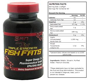 San Triple Strength Fish Fats Super Omega 3