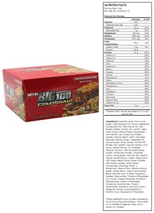 Met-Rx Big 100 Colossal Meal Replace Bar Caramel