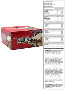 Met-Rx Big 100 Colossal Meal Replace Bar Cookie