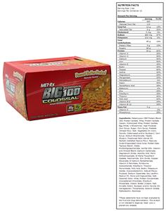 Met-Rx Big 100 Colossal Meal Replace Bar Pretzel