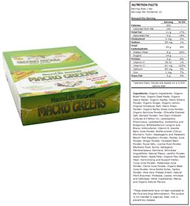 Macro Greens Raw Anti-Oxidant Food Bar-Apple Lemon