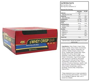 100% Whey Crisp Bar Marshmallow Treat