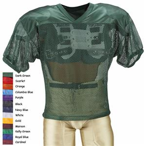 Adams Youth FJY-2-ES Porthole Mesh Football Jersey