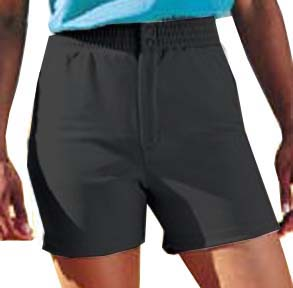 H5 Women Double-Knit Poly Softball Shorts Closeout