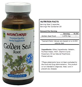 Nature's Herbs Golden Seal Root Herbal Supplement