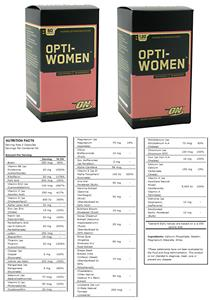 Optimum Nutrition Opti-Women Vitamins