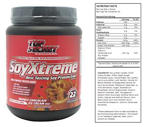 Top Secret SoyXtreme Protein Shake Dbl Chocolate