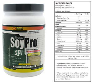 Advanced Soy Pro 1.5lb Banana Shake
