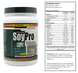 Advanced Soy Pro 1.5lb Chocolate Shake