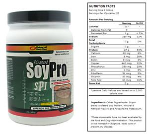Advanced Soy Pro 1.5lb Strawberry Shake