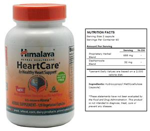Himalaya HeartCare Herbal Supplement