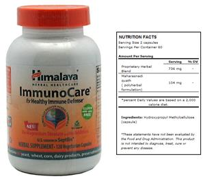 Himalaya ImmunoCare Herbal Supplement