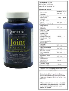 MRM Joint Synergy+ Dietary Supplement Joint Health