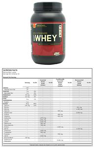 Optimum Nutrition Gold Standard 100% Whey Trop Pch