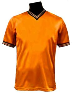 Pre-Numbered - ORANGE Soccer Jerseys W/WHITE #s