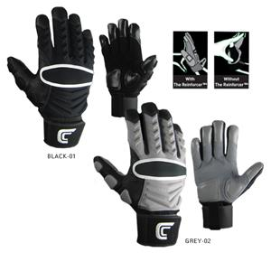 Cutters adult reinforcer football lineman gloves