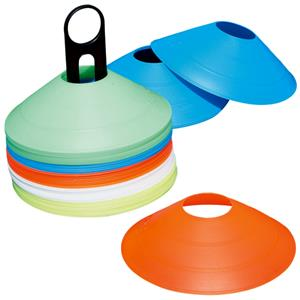 "Adams Multi-Colored 2"" Saucer Cone Sets"