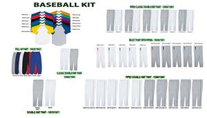 Baseball Undershirt 3/4 Length Jersey Uniform Kits