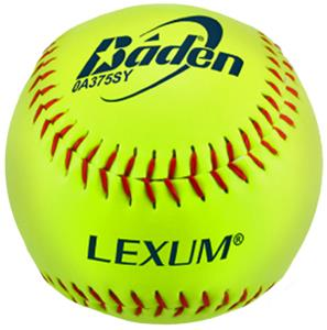 "Baden ASA Slow Pitch Yellow-C 12"" Softballs (DZ)"