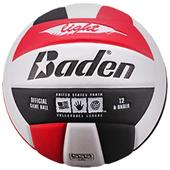 Baden 450 Light Stealth Soft Red/Blk Volleyball