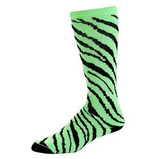 Pizzazz Cheerleaders Zebra Stripe Knee High Socks