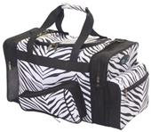 Pizzazz Zebra Print Travel Bags