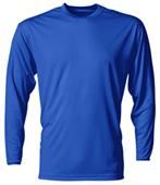 A4 Cooling Performance Youth Long Sleeve Crew