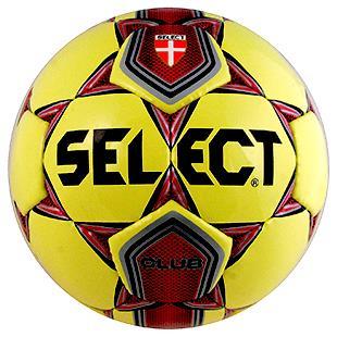 Select Club Training Soccer Balls-Yellow C/O