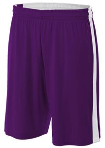 A4 Youth Reversible Moisture Management Short