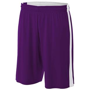 A4 Youth Reversible Moisture Management Shorts