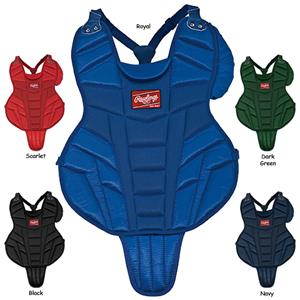 "Rawlings Intermediate 16"" Baseball Chest Protector"