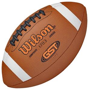 Wilson GST TDJ Composite Leather Game Footballs
