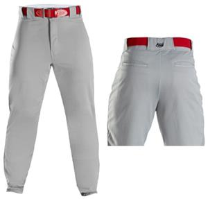Adams Baseball Pants Back Pockets Zipper Fly