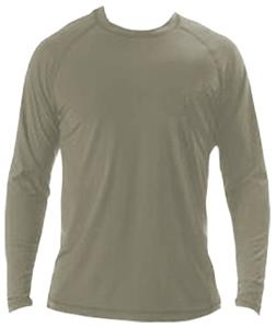 A4 Adult 2-Way Stretch Long Sleeve Performance Tee