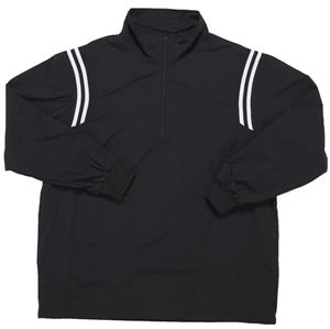 Smitty Black Umpire Jacket Pullover Long Sleeve