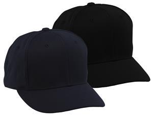"""Umpire Flex-Fit Base Cap 2 1/2"""" Bill"""