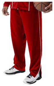 A4 Adult Zip-Leg Pull-On Warm-Up Pants CO