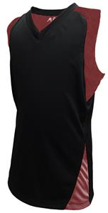 A4 Girls Moisture Management Racer Back Jerseys
