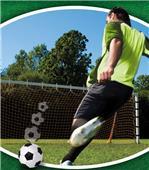 Eliminator 8x24 Soccer Rebounder/Standard Net