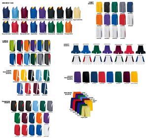 Mini Mesh Reversible Tank Basketball Uniforms Kits