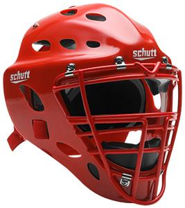 Schutt Youth Baseball Catcher's Helmets-NOCSAE