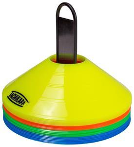 "Tachikara 2"" Orange Plastic Marker Saucer Cone Set"
