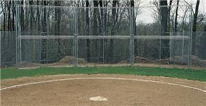 GS Permanent Baseball Backstop Sections