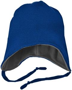 Richardson Knit Beanie w/Flaps Fleece Lining