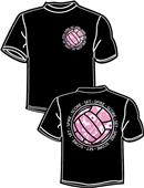 Tandem Sport Volleyball Set Spike Score T-Shirt
