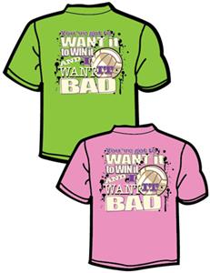 Tandem Sport Volleyball  I Want It T-Shirt