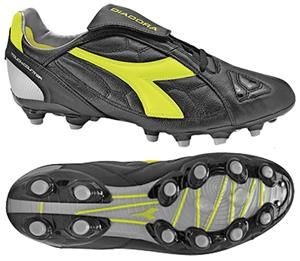 Diadora DD-Eleven LT MG 14 Soccer Cleats - Black